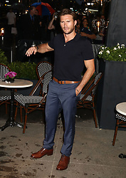 May 3, 2018 - New York City, New York, U.S. - Actor SCOTT EASTWOOD attends the Longchamp Fifth Ave Opening. (Credit Image: © Nancy Kaszerman via ZUMA Wire)