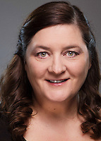 """Company portrait of Christine Deamer for Missouri Street Theatre's production of """"Once Upon A Mattress."""" Photo by Mike Padua."""