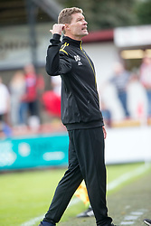 Brechin City manager Darren Dods. Brechin City 0 v 4 Inverness Caledonian Thistle, Scottish Championship game played 26/8/2017 at Brechin City's home ground Glebe Park.