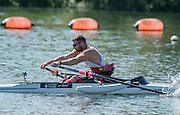 Caversham, Reading, . United Kingdom.  ASM1X. TTom AGGAR.  GBRowingteam, Paralympic  Team  For 2016 Rio Games.   Tuesday,  19/07/2016,         [Mandatory Credit Peter Spurrier/