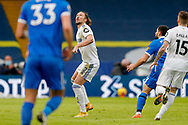 Leeds United defender Luke Ayling (2) in action during the Premier League match between Leeds United and Brighton and Hove Albion at Elland Road, Leeds, England on 16 January 2021.