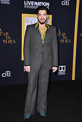 Adam Lambert attends the Premiere of Warner Bros. Pictures' 'A Star Is Born' at the Shrine Auditorium on September 24, 2018 in Los Angeles, CA, USA Photo by Lionel Hahn/ABACAPRESS.COM