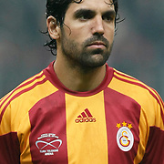 Galatasaray's Juan Emmanuel CULIO during their Friendly soccer match Galatasaray between Ajax at the Turk Telekom Arena at Arslantepe in Istanbul Turkey on Saturday 15 January 2011. Turkish soccer team Galatasaray new stadium Turk Telekom Arena opening ceremony. Photo by TURKPIX