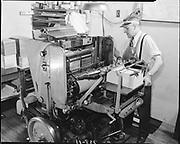 ackroyd-00738-11. Oregonian. May 18, 1948.  Miehle Vertical press.