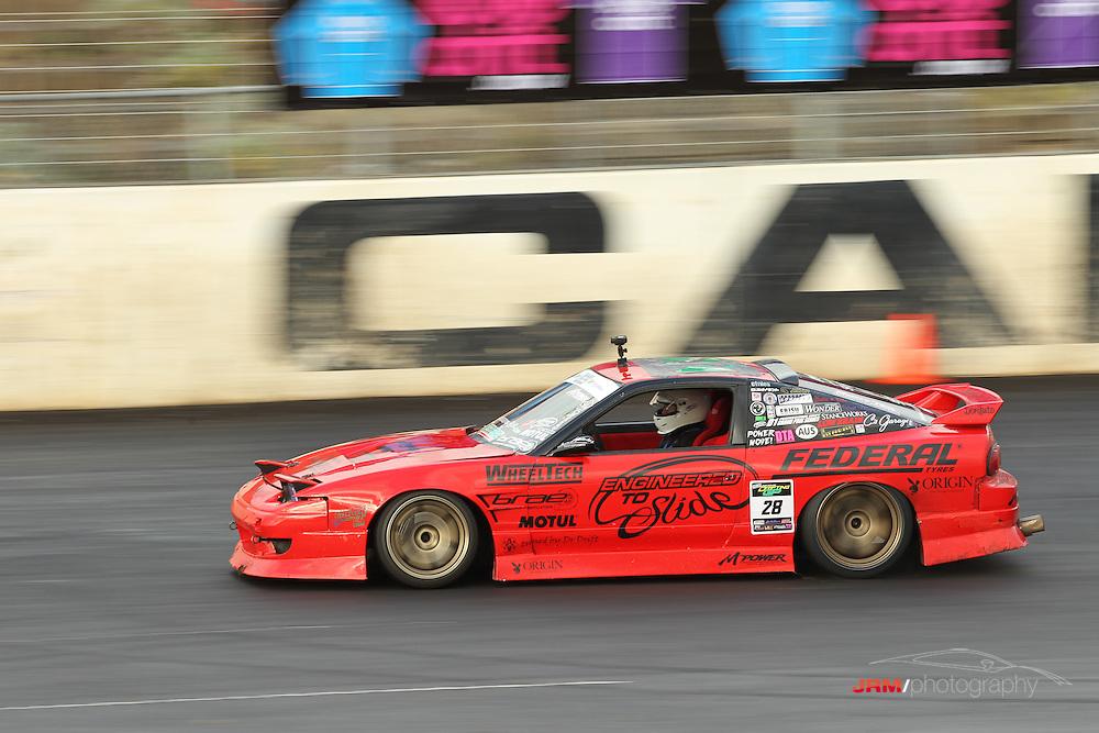 Round 2 of the Australian Drift Grand Prix, held at Melbourne's Calder Park Thunderdome.