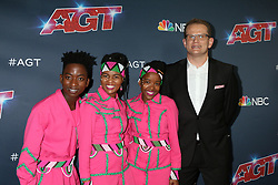 August 20, 2019, Los Angeles, CA, USA: LOS ANGELES - AUG 20:  Ndlovu Youth Choir at the ''America's Got Talent'' Season 14 Live Show Red Carpet at the Dolby Theater on August 20, 2019 in Los Angeles, CA (Credit Image: © Kay Blake/ZUMA Wire)