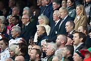 Twickenham, England, 7th March 2020, Head Coach Eddie JONES,   Guests at the Guinness Six Nations, International Rugby, England vs Wales, RFU Stadium, United Kingdom, [Mandatory Credit; Peter SPURRIER/Intersport Images]