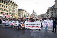 SCHWEIZ - BERN - Klimastreik auf dem Weisenhausplatz - 18. Januar 2019 © Raphael Hünerfauth - http://huenerfauth.ch