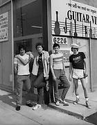 Tom Robinson Band on USA tour 1980
