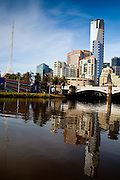 Early morning in Melbourne town