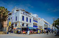 The fashionable main square in Essaouirs, Morocco<br /> <br /> (c) Andrew Wilson | Edinburgh Elite media