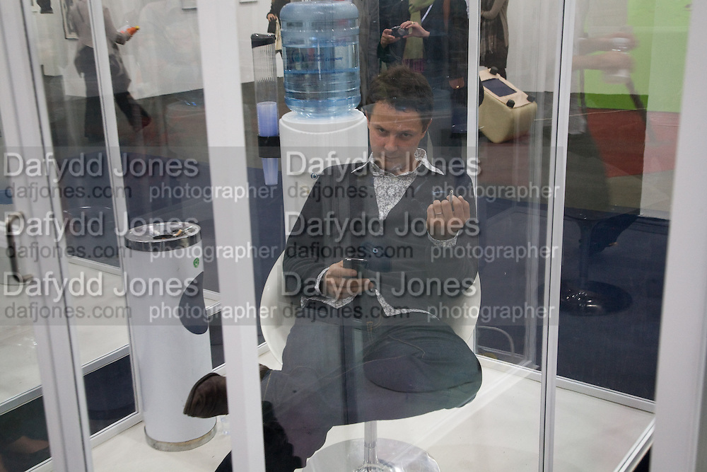 SMOKING ROOM; JONATHAN YEO Frieze Art Fair 2008. Regent's Park. London. 15 October 2008 *** Local Caption *** -DO NOT ARCHIVE -Copyright Photograph by Dafydd Jones. 248 Clapham Rd. London SW9 0PZ. Tel 0207 820 0771. www.dafjones.com