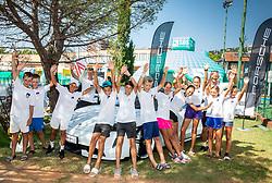 Porsche Business Challenge Tennis tournament, on August 22, 2020 in SRC Marina, Portoroz / Portorose, Slovenia. Photo by Vid Ponikvar / Sportida
