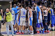 DESCRIZIONE : Eurolega Euroleague 2015/16 Group D Dinamo Banco di Sardegna Sassari - Maccabi Fox Tel Aviv<br /> GIOCATORE : Team Dinamo Banco di Sardegna Sassari<br /> CATEGORIA : Fair Play Ritratto Delusione Postgame<br /> SQUADRA : Dinamo Banco di Sardegna Sassari<br /> EVENTO : Eurolega Euroleague 2015/2016<br /> GARA : Dinamo Banco di Sardegna Sassari - Maccabi Fox Tel Aviv<br /> DATA : 03/12/2015<br /> SPORT : Pallacanestro <br /> AUTORE : Agenzia Ciamillo-Castoria/L.Canu