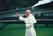 Pope John Paul ll at World Youth Day in Denver, CO on 8/15/1993<br />Photo by Dennis Brack
