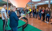 UTRECHT - Boukje Smeets (KNHB). Het KNHB Nationaal Hockey Congres 2020, Samen werken aan de   toekomst. COPYRIGHT  KOEN SUYK