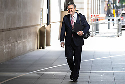 © Licensed to London News Pictures. 09/06/2019. London, UK. Shadow Secretary of State for International Trade Barry Gardiner arrives at BBC Broadcasting House to appear on The Andrew Marr Show. Photo credit: Rob Pinney/LNP