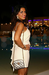 Claudia Letizia at Camposano (Na) Dubay Village White Party
