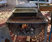 Old maple syrup boil-down concentrator. Image taken with a Leica TL camera and 18-56 mm zoom lens