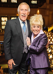 File photo dated 18/04/13 of Sir Bruce Forsyth and Barbara Windsor at the 30 year reunion of the cast and crew of 'The Talk of the Town', at the Hippodrome Casino in central London. TV veteran Sir Bruce has died at the age of 89, his family have announced.
