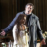 .Picture shows :Richard Zeller as Giorgio Germont and  Carmen Giannattasio  as Violetta Valéry ..La traviata by Giuseppe Verdi.A NEW SCOTTISH OPERA AND WELSH NATIONAL CO-PRODUCTION. Picture © Drew Farrell Tel : 07721 ?735041..Scottish Director David McVicar and Tanya McCallin, the creative team behind Scottish Opera?s Der Rosenkavalier, offer an authentic take on one of the world?s most famous operas. Bohemian artists, showgirls, courtesans ? the rich and the wretched mix together within the shady underworld of the Parisian demi-monde..Carmen Giannattasio makes her Scottish Opera début playing the lead role of Violetta, Federico Lepre sings Alfredo, and Richard Zeller returns to Scottish Opera as Giorgio Germont. French conductor  Emmanuel Joel-Hornak returns for this production...Cast.Carmen Giannattasio  as Violetta Valéry.Federico Lepre as Alfredo Germont.Richard Zeller as Giorgio Germont.Katherine Allen as Flora Bervoix.Adrian Powter as Baron Douphol.Nicholas Ransley as Gastone.Paul Carey Jones as Marchese D?Obigny.Alan Fairs as Doctor Grenvil.Catriona Barr as  Annina..Conductors  Emmanuel Joel-Hornak and (Derek Clark Nov 13 & 15).Director David McVicar.DesignerTanya McCallin.ChoreographerAndrew George..THEATRE ROYAL GLASGOW Thu 30 Oct 7.15pm ? Sat 1 Nov 7.15pm ? Fri 6 Feb 7.15pm Sun 8 Feb 4pm ? Thu 12 Feb 7.15pm ? Sat 14 Feb 7.15pm La traviata Unwrapped - Thurs 5 Feb 6pm ..EDEN COURT, INVERNESS Thu 6 Nov 7.15pm ? Sat 8 Nov 7.15pm  La traviata Unwrapped ? Wed 5 Nov 6pm..HIS MAJESTY?S THEATRE, ABERDEEN Thu 13 Nov 7.30pm ? Sat 15 Nov 7.30pm  La traviata Unwrapped ? Wed 12 Nov 6pm ..FESTIVAL THEATRE EDINBURGH Wed 19 Nov 7.15pm ? Sun 23 Nov 4pm  Thu 27 Nov 7.15pm ? Sat 29 Nov 7.15pm  La traviata Unwrapped - Tues 25 Nov 6pm ..GRAND OPERA HOUSE, BELFAST Thu 26 Feb time tbc ? Sat 28 Feb La traviata Unwrapped ? Fri 27 Feb time tbc..Note to Editors: This image is free to be used editorially in the promotion of Scottish Opera and this production. Without prejudice ALL oth