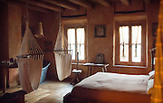 In the heart of Lombardy, 20 km from Lake Como and 40 km north of Milan towards Lecco lies the very beauitful Oasi de Galbusera Bianca. It's location was carefully chosen by the owners as it is surrounded by an impressive WWF Oasis of Biodiversity made up of the surrounding Montevecchia and Curone Valley. The rustic farmhouse overlooks a 20 hectares wide biodynamic organic farm, a terraced hill country with meadows, woods, vineyards and orchards - the perfect setup for growing all the organic cuisine which is served up daily in their restaurant. <br /> <br /> All of the lodgings have been created with a careful attention to detail with beautiful rustic finishes and clever 'up-cyclin'g of materials found on the estate when the development first started. All of the rooms & suites, together with the lounge and restaurant are situated in the ancient hamlet whose routes can be traced back to 300. The owners over the last decade have carefully remodelled successfully following the necessary green building rules and using renewable energies. Our particular favourite has to the 'Falegname' or the Carpenter's room, very charismatic indeed.<br /> <br /> This wonderful Oasis offers the chance to return to nature, to live and experience a little piece of green paradise and to get to know some of Lombardy's artistic and landscape treasures.
