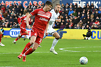 Football - 2019 / 2020 Sky Bet (EFL) Championship - Swansea City vs. Middlesbrough<br /> <br /> Paddy McNair of Middlesbrough on the attack , at The Liberty Stadium.<br /> <br /> COLORSPORT/WINSTON BYNORTH