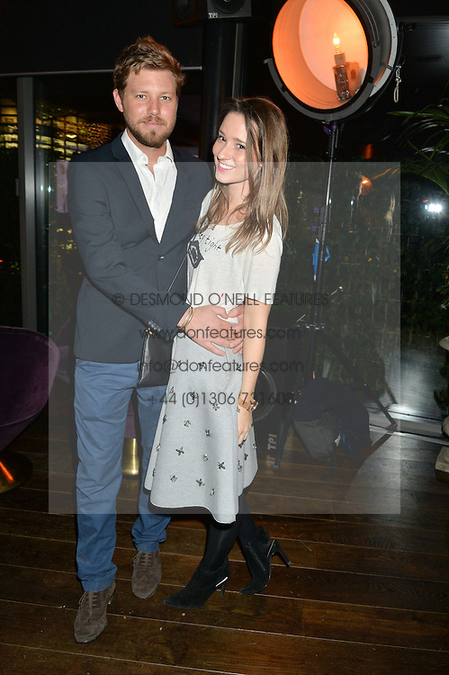 JOFFY BASTARD and KELLY EASTWOOD at a party to celebrate the Astley Clarke & Theirworld Charitable Partnership held at Mondrian London, Upper Ground, London on 10th March 2015.