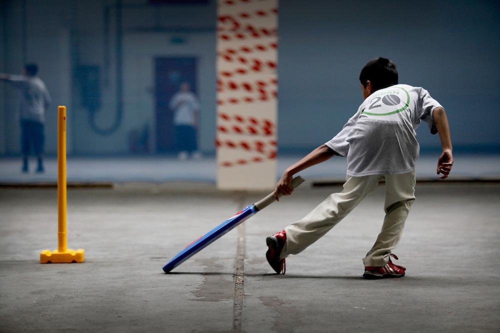English Cricket Board's 'Workspace Urban' cricket initiative, London