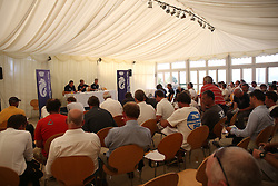 Brewin Dolphin Scottish Series 2014, an International IRC competition racing on the Solent off Cowes and hosted by the RORC.<br /> <br /> RORC Skippers Briefing<br /> <br /> <br /> Credit: Marc Turner
