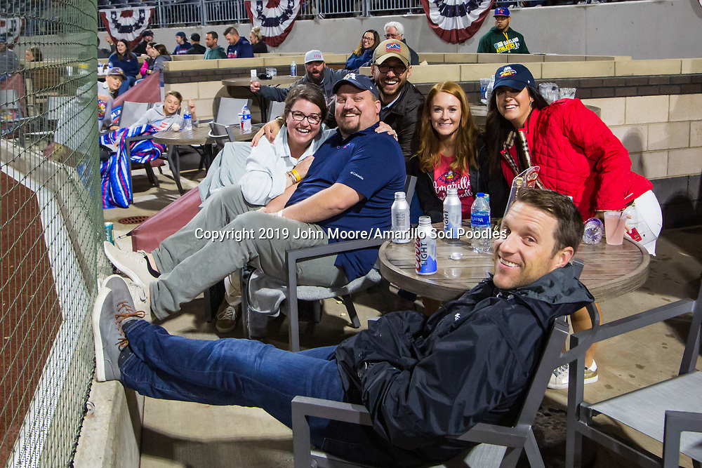 The Amarillo Sod Poodles played against the Midland RockHounds on Thursday, May 23, 2019, at HODGETOWN in Amarillo, Texas. [Photo by John Moore/Amarillo Sod Poodles]