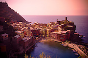 A water inlet in the coastal town of Cinque Terre Italy.