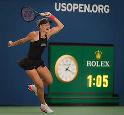 August 30, 2018 - Angelique Kerber of Germany in action during her second round match at the 2018 US Open Grand Slam tennis tournament. New York, USA. August 30th 2018. (Credit Image: © AFP7 via ZUMA Wire)