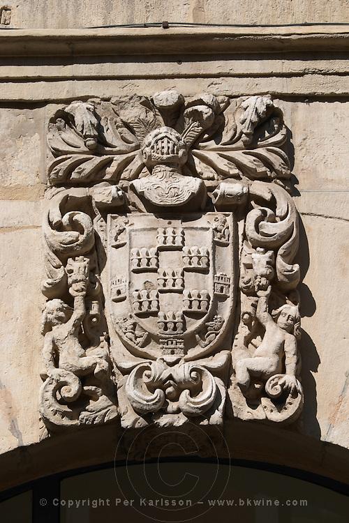 decorative coat of arms , Leon spain castile and leon