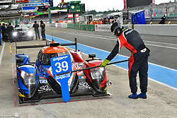 June 3, 2018 - Le Mans, FRANCE - 39 GRAFF SO24 (FRA) ORECA 07 GIBSON LMP2 VINCENT CAPILLAIRE (FRA) JONATHAN HIRSCHI (CHE) TRISTAN GOMMENDY  (Credit Image: © Panoramic via ZUMA Press)