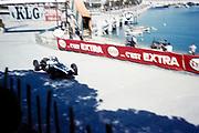Formula 1 Monaco Grand Prix 14th May 1961, Jack Brabham in Cooper-Climax  tobacconist kiosk corner