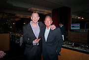 GARY BOOM; TONY BUCKINGHAM, Fine Wine and Dine in aid of  Sick Children's Trust. Cafe Anglais. London. 1 March 2012