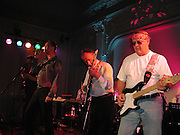 left to right: Valentine Lindsay, The Marquess of Worcester, Bill Lovelady and Hugh Dickesn, Planet Potato, Bush Hall, 310 Uxbridge Rd. 17 June 2004. ONE TIME USE ONLY - DO NOT ARCHIVE  © Copyright Photograph by Dafydd Jones 66 Stockwell Park Rd. London SW9 0DA Tel 020 7733 0108 www.dafjones.com