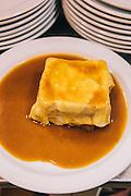 """Classic """"francesinha"""" sandwich, Restaurante Regaleira. Porto, Portugal"""