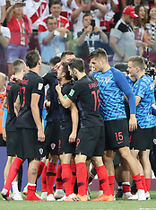 Croatia v Denmark - 01 July 2018