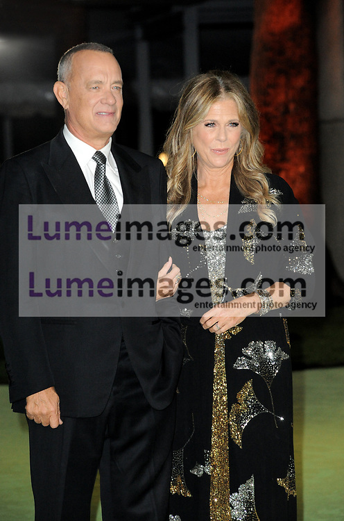 Tom Hanks and Rita Wilson at the Academy Museum of Motion Pictures Opening Gala held in Los Angeles, USA on September 25, 2021.