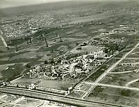 1928 Aerial of Fox Movietone Studios in West Los Angeles