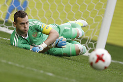 June 24, 2017 - Kazan, Russia - Igor Akinfeev of Russia national team during the Group A - FIFA Confederations Cup Russia 2017 match between Russia and Mexico at Kazan Arena on June 24, 2017 in Kazan, Russia. (Credit Image: © Mike Kireev/NurPhoto via ZUMA Press)