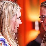 NLD/Amsterdam/20150430 - Uitreiking Mary Dresselhuys Prijs 2015, winnares Anniek Pheifer en .................