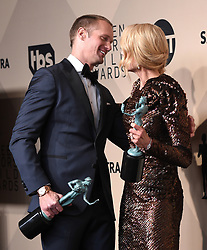 January 21, 2018 Los Angeles, CA This Is Us cast 24th Annual Screen Actors Guild Awards held at the Shrine Exposition Center. 21 Jan 2018 Pictured: Alexander Skarsgard and Nicole Kidman. Photo credit: OConnor-Arroyo / AFF-USA.com / MEGA TheMegaAgency.com +1 888 505 6342