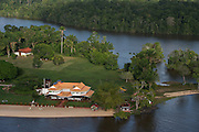 Baganara Resort<br /> Essequibo River<br /> GUYANA<br /> South America<br /> Longest river in Guyana