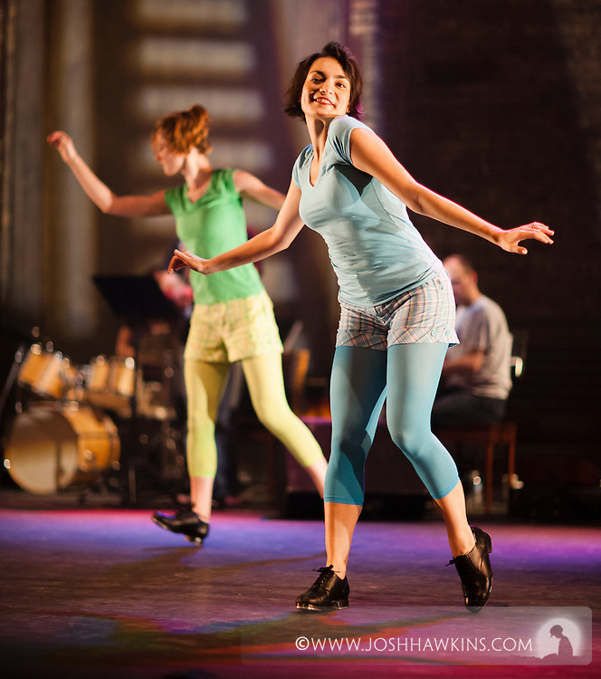 """Chicago Tap Theatre's production of Totally Tapular at the Athenaeum Theater in Chicago...""""Call Me Al"""".Dancers: Sam Nolte, Jennifer Pfaff Yonally.Choreography by: Rich Ashworth"""