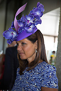 COUNTESS LEOPOLD VON BISMARCK; ,, Glorious Goodwood. Thursday.  Sussex. 3 August 2013