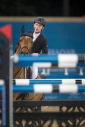 Brash Scott (GBR) - Hello Sanctos<br /> CHI Al Shaqab - Doha 2013<br /> © Dirk Caremans