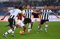 Gol Gervinho Roma Goal celebration 3-0 <br /> Roma 28-10-2015 Stadio Olimpico Football Calcio Serie A 2015/2016 AS Roma - Udinese Foto Andrea Staccioli / Insidefoto